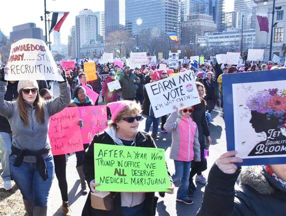 Did you attend the 2018 Women's March on Philadelphia? | HughE Dillon