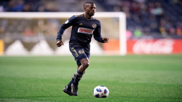 Philadelphia Union MLS Fafa Picault