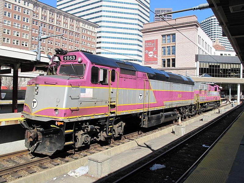 commuter rail schedule