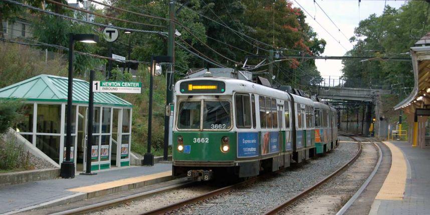 green line, mbta