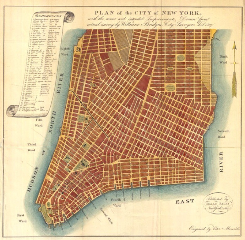 204 years ago today, the Manhattan Street Grid became official - Metro US
