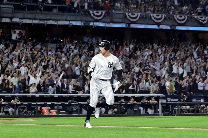 Aaron Judge. (Photo: Getty Images)