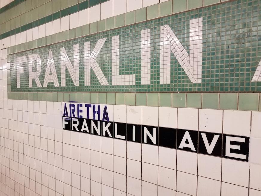 aretha franklin brooklyn tribute, aretha franklin ave