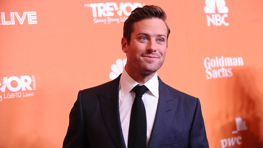 Armie Hammer The Trevor Project