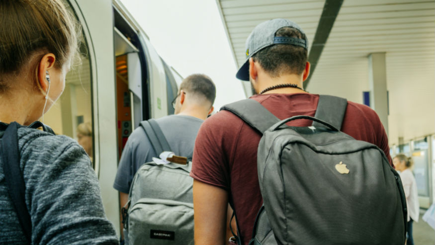 The Grumble: Backpacks on the subway