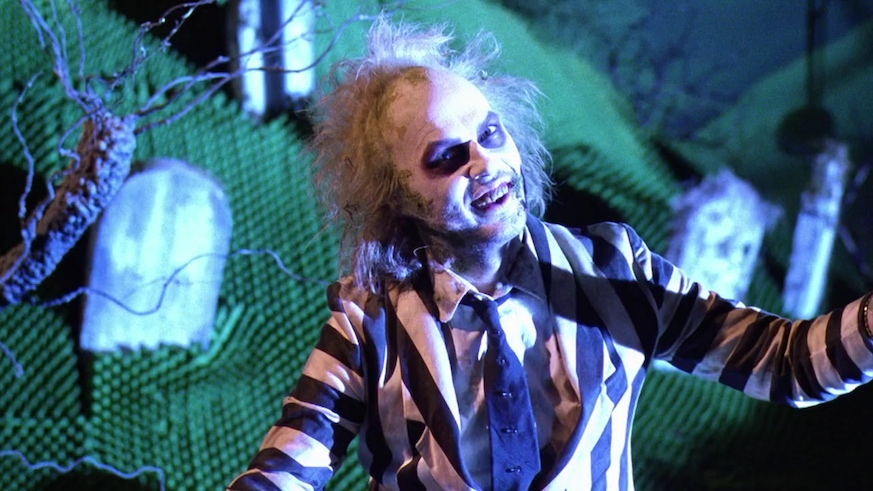 Beetlejuice is being revived as a musical 30 years after the 1998 film. Credit: Warner Bros.