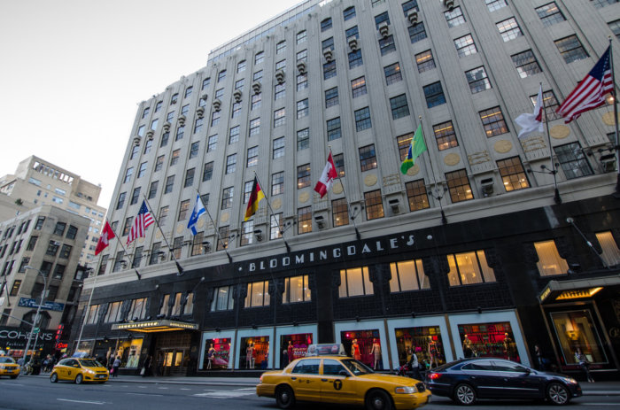 Bloomingdale's union workers rally ahead of contract negotiations.