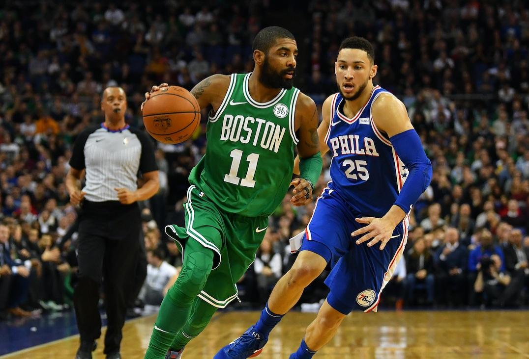 Burke Celtics own Sixers ass