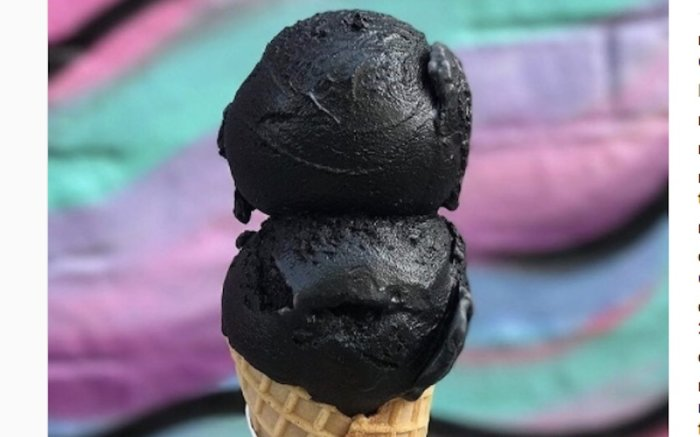 charcoal foods nyc, activated charcoal foods, charcoal detox, charcoal food
