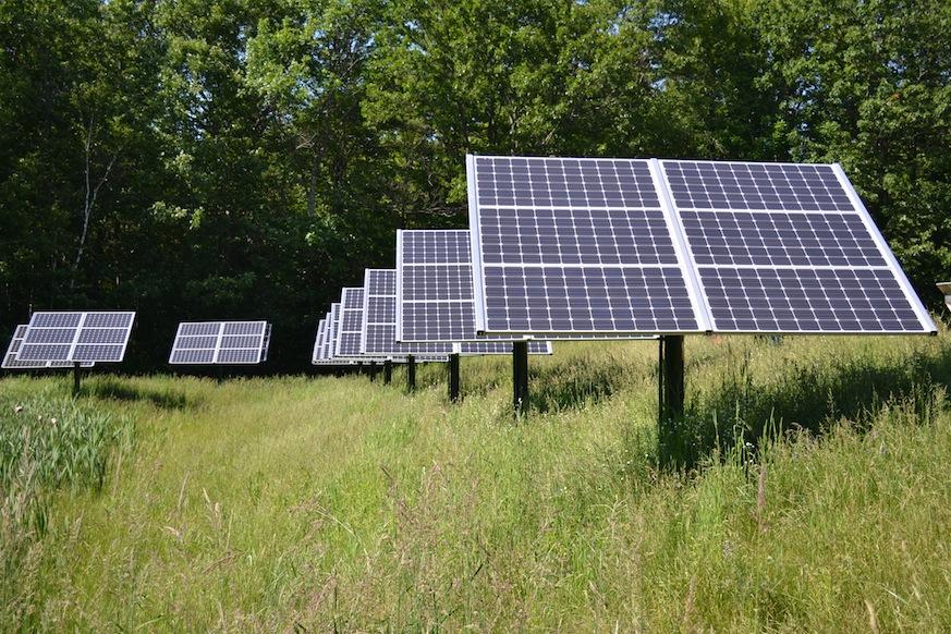community solar, solar power, earth day, solar panels