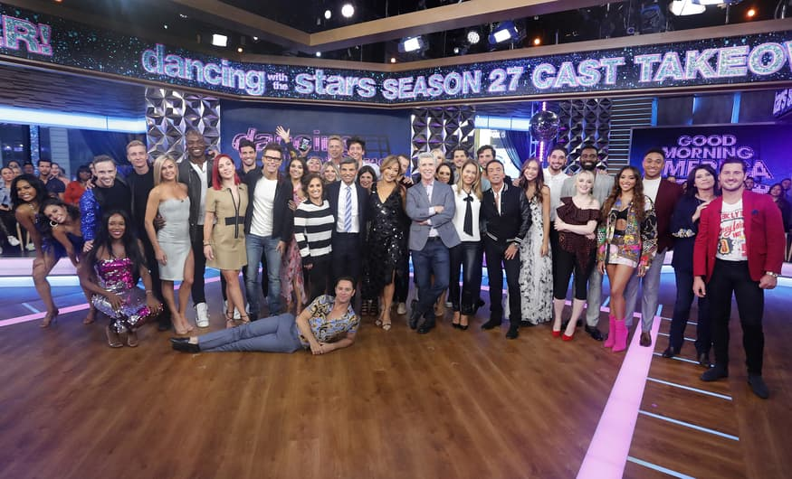 Dancing With the Stars season 27 cast and dance pros