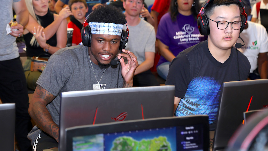 You don't need to be NFL Player Donte Deayon to participate in New York's Fortnite In The Heights Tournament.