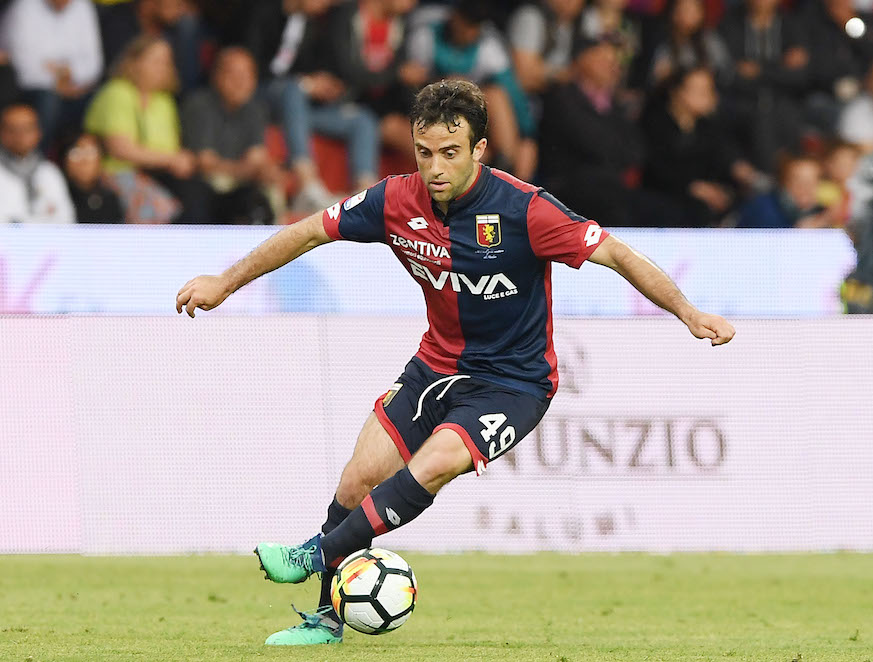 Giuesppe Rossi of Genoa. (Photo: Getty Images)