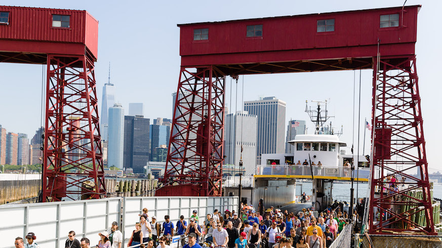 Governors Island Ferry Photo: Kreg Holt, Trust for Governors Island