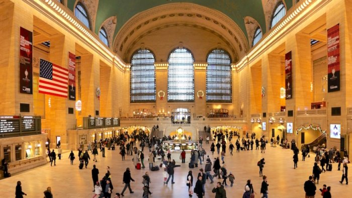 grand central station main concourse modern terminal
