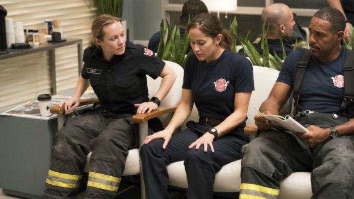 Grey's Anatomy Spinoff Firefighters
