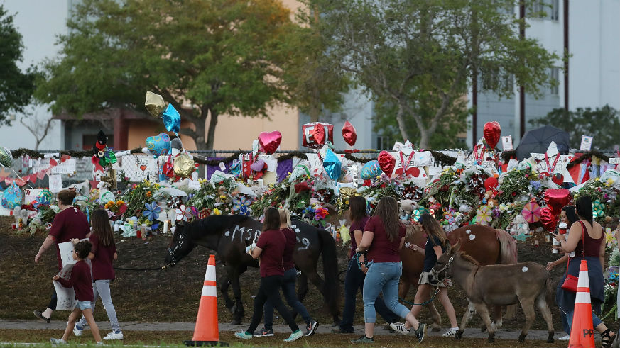how many school shootings in 2018 parkland students