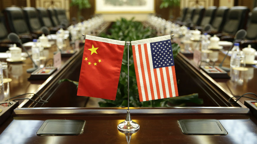 is china an ally of the us flags