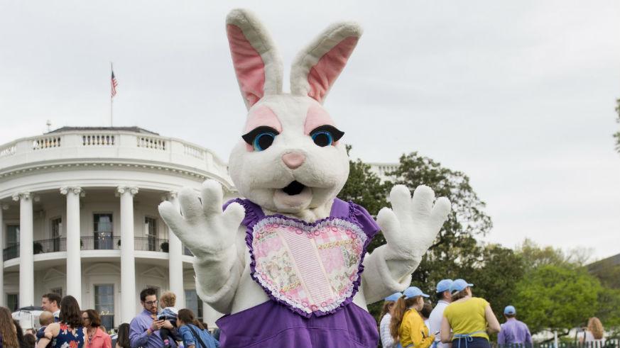 is the easter bunny real white house
