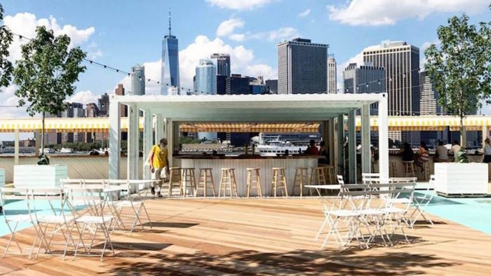 Island Oyster is now open on Governors Island. Credit: Facebook