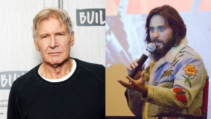 Harrison Ford and Jared Leto