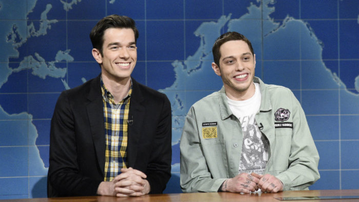 John Mulaney and Pete Davidson on SNL