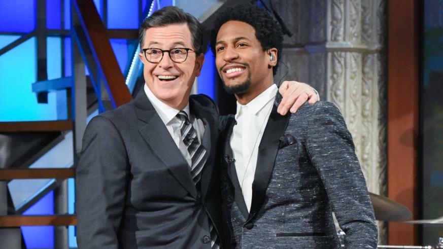 Jon Batiste Stephen Colbert Late Show