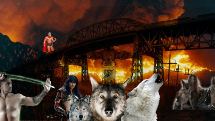 Wolves wanted to defend Kosciuszko Bridge from demolition.