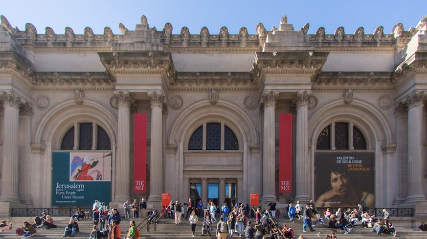 The Met is not only NYC's most popular museum, it's the city's most popular attraction. Credit: Twitter @metmuseum