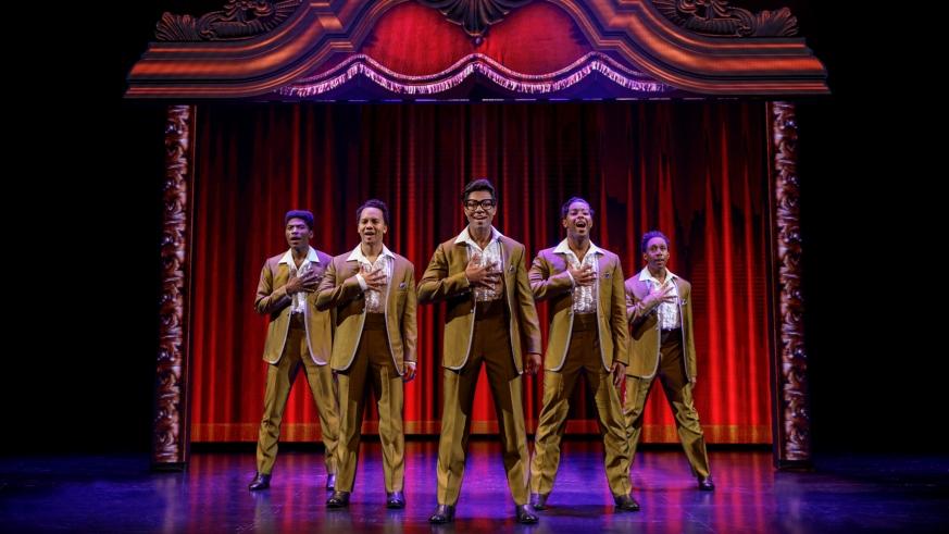 Motown the Musical Boston Opera House