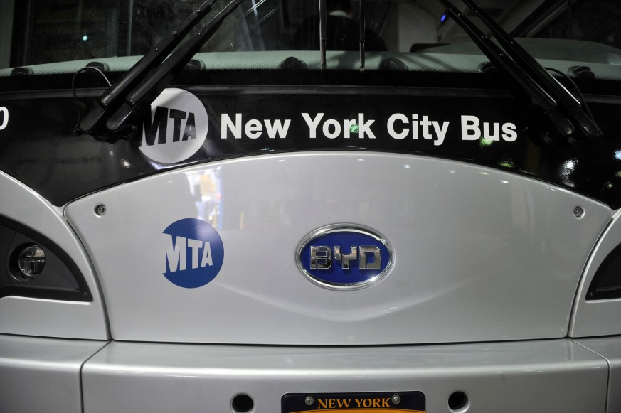Two advocacy groups unveiled their annual 'Pokey and Schleppie' awards for the slowest and least reliable MTA bus.