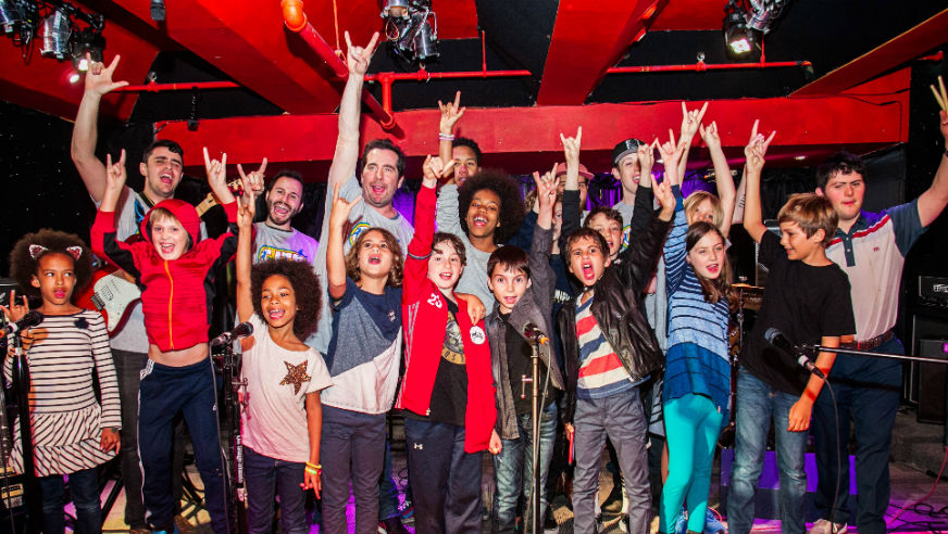 Want to ignite your child's imagination? Help them start a band!