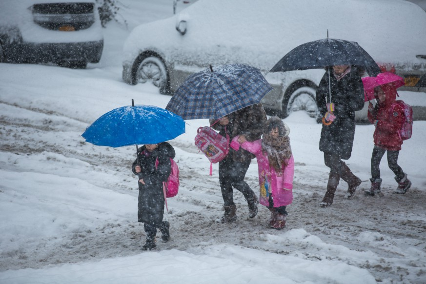 As the city preps for the bomb cyclone of winter weather, parents are still wondering if New York City schools will be open Thursday.