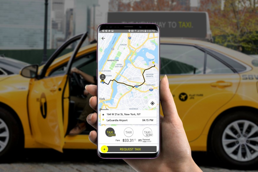 New Yorkers in all five boroughs can use Waave app's Taxi Max feature to book an NYC taxi — both yellow and green — for what the company said are 'significantly more-affordable rates.' (Waave)