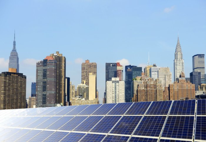 NYCHA is seeking applications from community-based organizations and small solar developers to install community solar gardens on 325 rooftops at 65 developments.