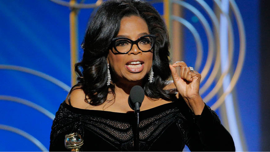 Oprah 2020 Golden Globes
