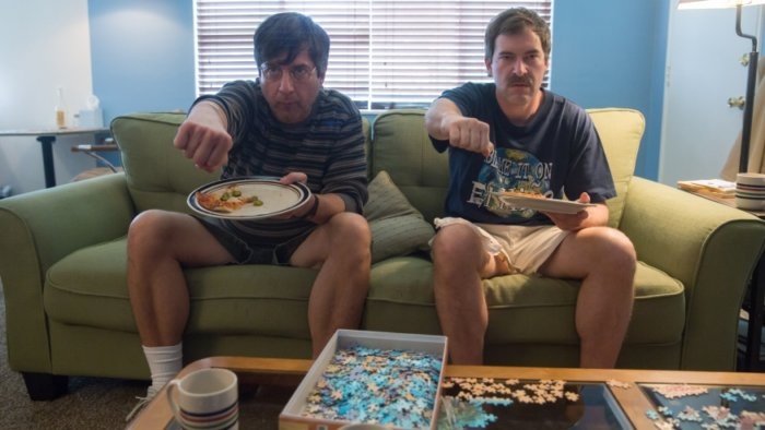 Ray Romano and Mark Duplass in Paddleton
