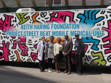 Keith Haring Foundation's Project Street Beat Mobile Medical Unit, Planned Parenthood