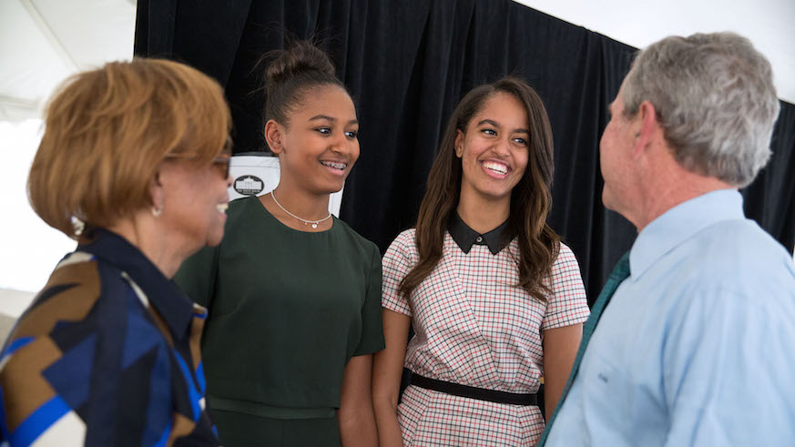 sasha obama, natasha obama, barack obama