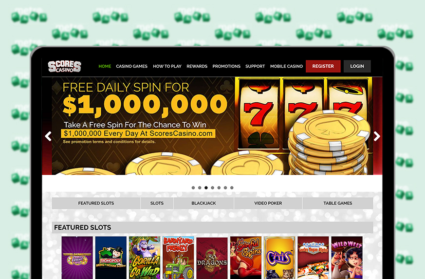 Scores Online Casino Review