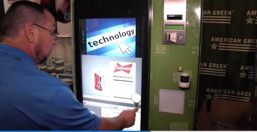smart vending maching, vending maching for pot, vending machine for weed, american green, pot vending machine