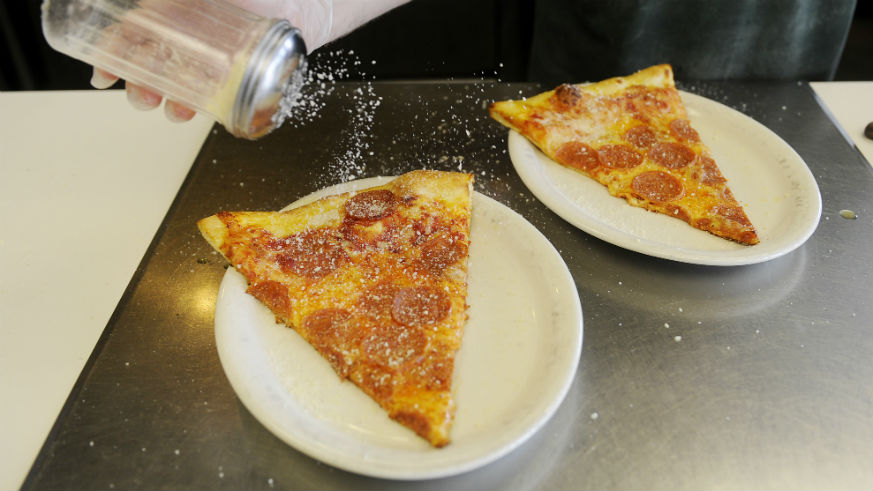 Slice Out Hunger Dollar Pizza Party