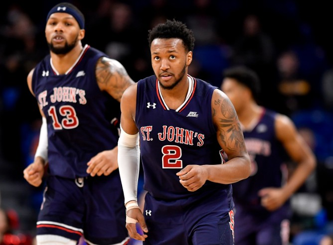 Shamorie Ponds (2) and St. John's will face Arizona State in the First Four of the NCAA Tournament. (Photo: Getty Images)