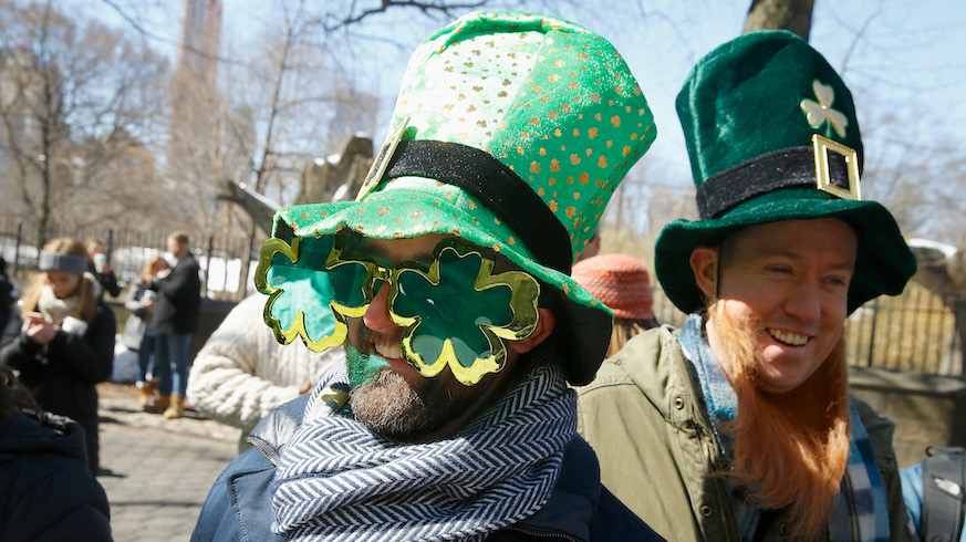 We're not going to judge you for going the green beer route, but there's more than one way to do St. Patrick's Day in New York City. Credit: Getty Images