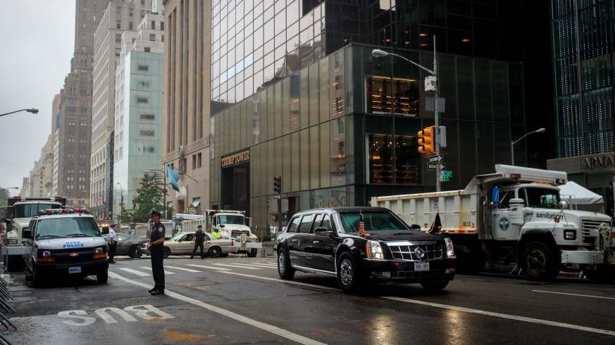 UN General Assembly street closures, traffic