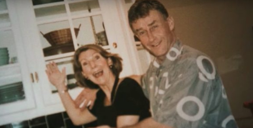 Michael Peterson and Kathleen Peterson in The Staircase