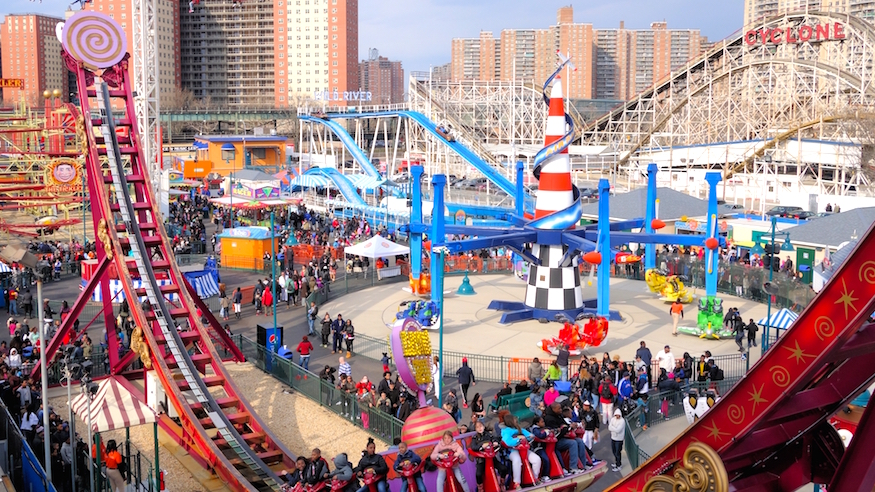 things to do in nyc luna park coney island