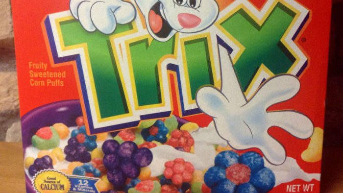 Trix cereal returns to fruity shapes