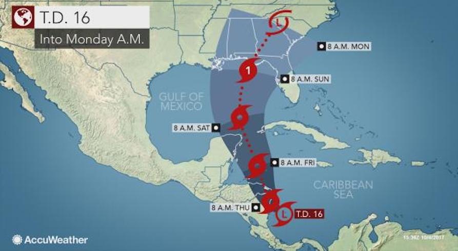 hurricane nate, tropical storm nate
