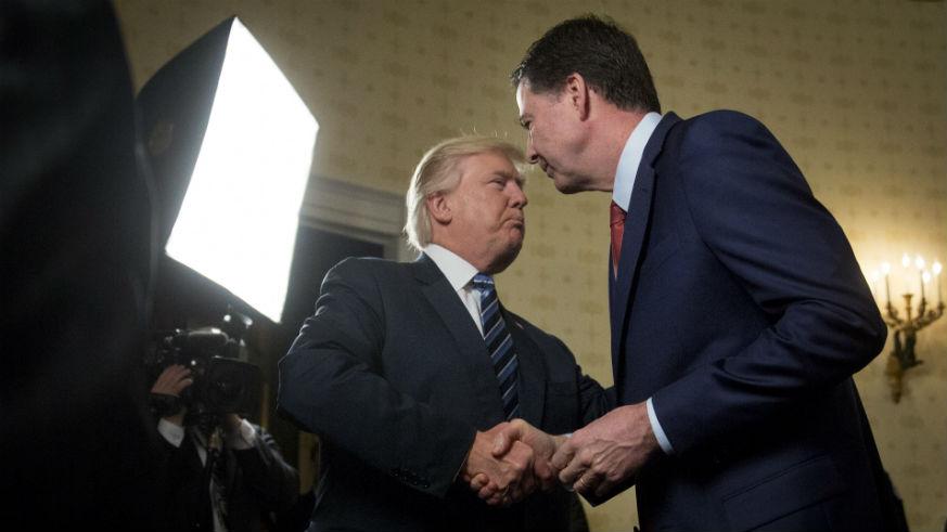 Trump Impeachment James Comey